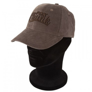 GORRA FOX CHUNK BROWN CORDUROY BASEBALL CAP
