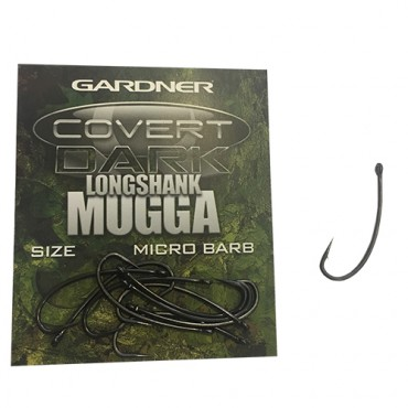 ANZUELO GARDNER COVERT DARK LONGSHANK MUGGA 4 (10ud)