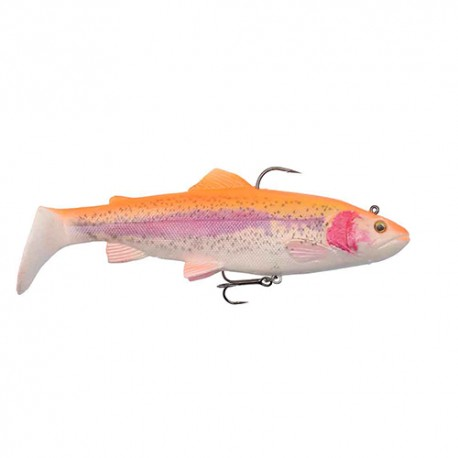 SAVAGE GEAR 4D RATTLE TROUT 02 GOLDEN ALBINO