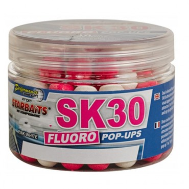 STARBAITS BOILIES POP UP FLUORO SK30 (14 MM)