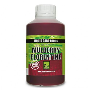 ROD HUTCHINSON LIQUID CARP FOODS MULBERRY FLORENTINE (500 ML)