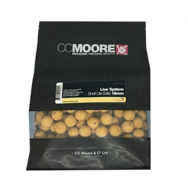 CCMOORE LIVE SYSTEM BOILIES SHELF LIFE  18 MM (1 KG)
