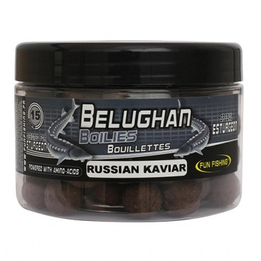 FUN FISHING BELUGHAN RUSSIAN KAVIAR BOILIES 15 MM (300 GR)