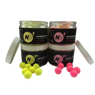 CCMOORE NORTHERN SPECIALS NS1 BOILIES POP UP YELLOW 14 MM (35ud)