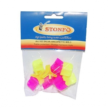 PROTECTOR ANZUELOS TRIPLES STONFO TALLA 3 (10ud)