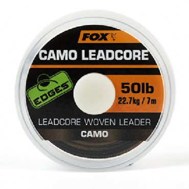 BAJO LINEA FOX  CAMO LEADCORE CAMO (50  LB-7 M)