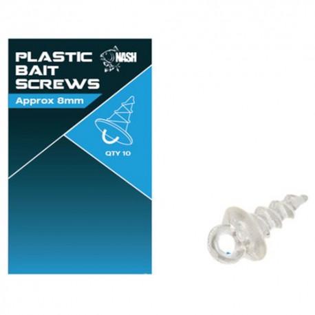 NASH PLASTIC BAIT SCREWS 8 MM